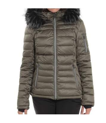Manteau de Ski Kaki Femme Sun Valley Remine