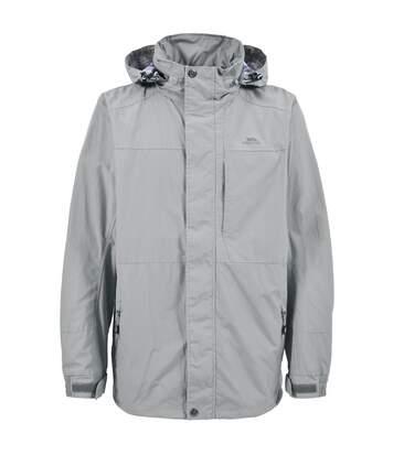 Trespass Hinkley Hooded Water Repellent Coat/Jacket (Sage) - UTTP288