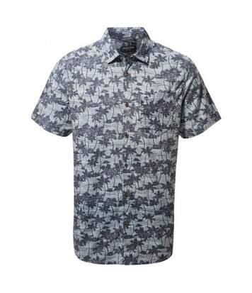 Craghoppers Mens Carlos Short Sleeved Shirt (Ocean Blue) - UTCG1368