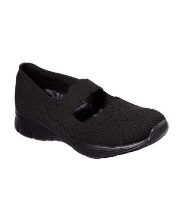 Skechers - Chaussures Seager - Femme (Noir) - UTFS6123
