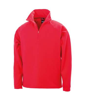 Result Mens Core Micron Anti-Pill Fleece Top (Red) - UTBC849