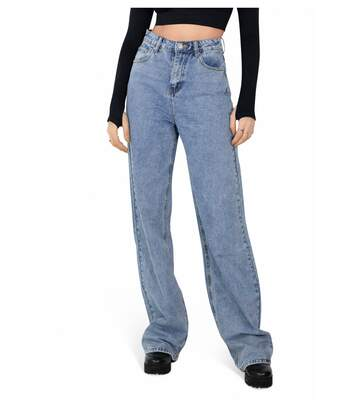 Jeans Boyfriend taille haute