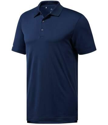 Polo performance golf ADIDAS manches courtes - homme - AD036 - bleu marine