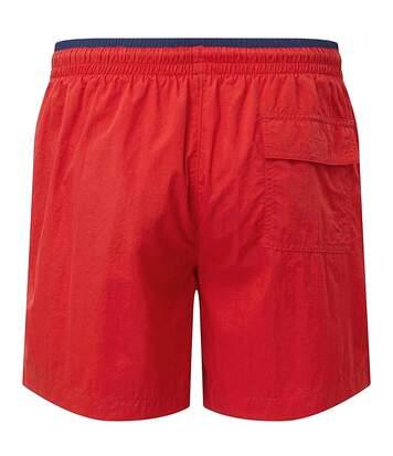 Asquith & Fox Mens Swim Shorts (Red/Navy) - UTRW6242