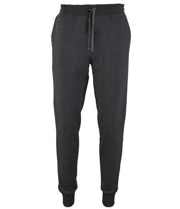 Pantalon jogging homme coupe slim - homme - 02084 - gris anthracite