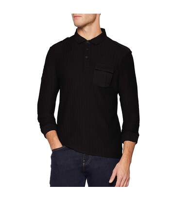 Polo noir homme Oxbow Nohal
