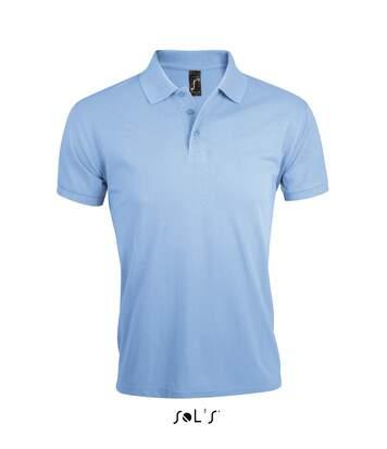 Polo homme polycoton - 00571 - bleu ciel