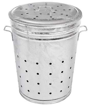 Bac multi-usages composteur acier galvanisé 100 litres