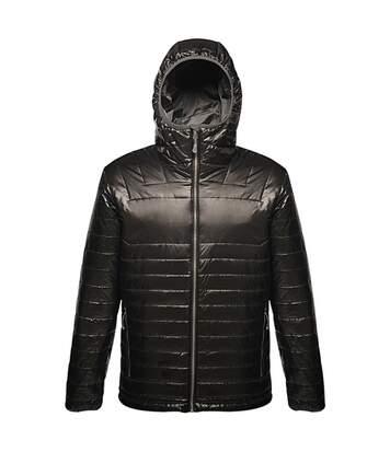 Veste technique matelassée - doudoune homme TRA409 - noir