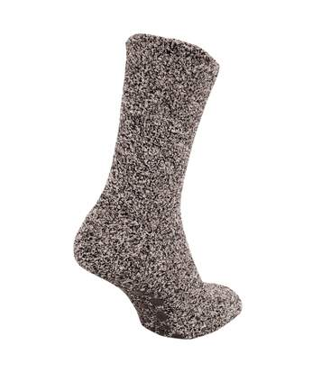 Floso - Chaussettes Chaussons - Homme (Marron) - UTMB134
