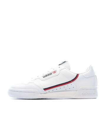 Baskets Blanches femmes Adidas CONTINENTAL 80 J
