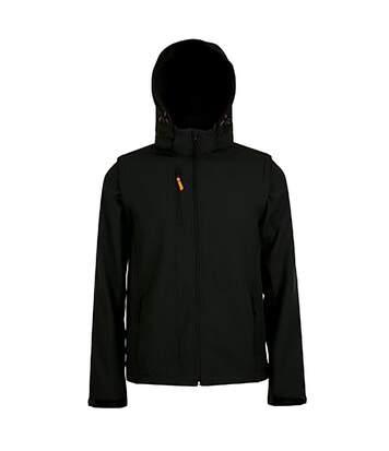 SOLS Mens Transformer Pro Softshell Jacket (Black) - UTPC2739