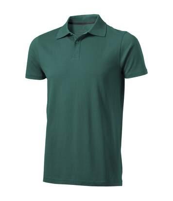 Elevate Mens Seller Short Sleeve Polo (Forest Green) - UTPF1825