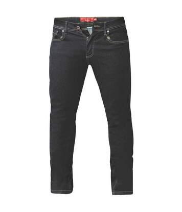 Duke Mens Cedric King Size Tapered Fit Stretch Jeans (Indigo) - UTDC182