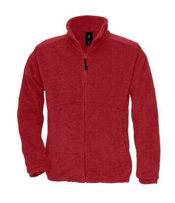 B&C Mens Icewalker+ Full Zip Fleece Top (Red) - UTRW3030