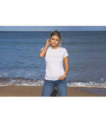 Awdis - T-Shirt - Femme (Blanc) - UTPC2974