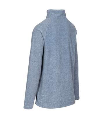 Trespass Mens Keynote Anti Pilling 1/4 Zip Fleece Top (Navy) - UTTP4242