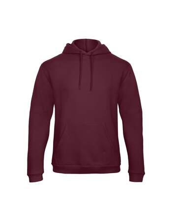 Sweat-shirt à capuche - unisexe - WUI24 - rouge bordeau