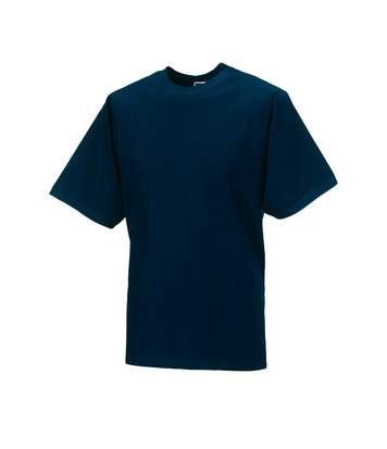 Jerzees Colours Mens Classic Short Sleeve T-Shirt (French Navy) - UTBC577