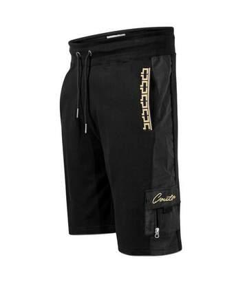 Duke Mens Loki D555 Couture Cargo Shorts (Black) - UTDC279