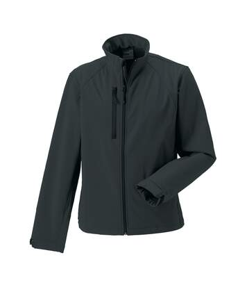 Russell Mens Water Resistant & Windproof Softshell Jacket (Titanium) - UTBC562