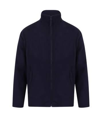 Henbury Mens Microfleece Anti-Pill Jacket (Oxford Navy) - UTRW678