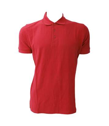 Jerzees Colours Mens Ultimate Cotton Short Sleeve Polo Shirt (Classic Red) - UTBC569