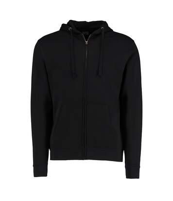 Kustom Kit Mens Full Zip Hooded Sweatshirt (Black) - UTBC3726
