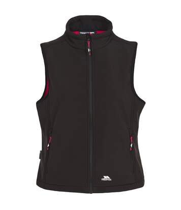 Trespass Womens/Ladies Norma Softshell Sleeveless Gilet (Black) - UTTP3633