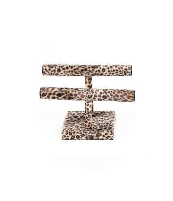 Porte bijoux Savane - H. 25 cm - Léopard