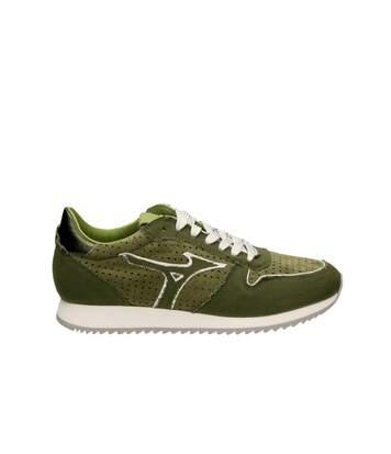 Sneakers Lifestyle cuir perforé ETAMIN   -  Femme - Mizuno