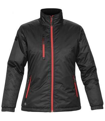 Stormtech Ladies/Womens Axis Water Resistant Jacket (Black/Black) - UTBC2080