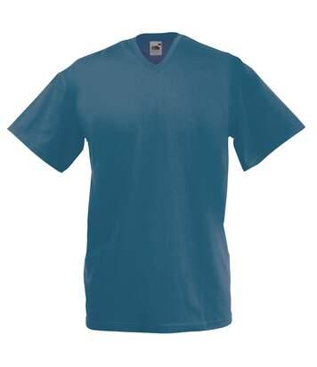Fruit Of The Loom -T-shirt à manches courtes - Homme (Bleu marine) - UTBC338