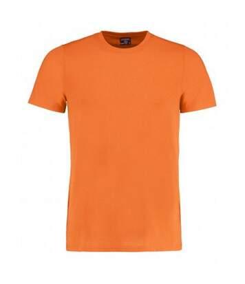 Kustom Kit Mens Superwash 60 Fashion Fit T-Shirt (Bright Orange Marl) - UTBC3729