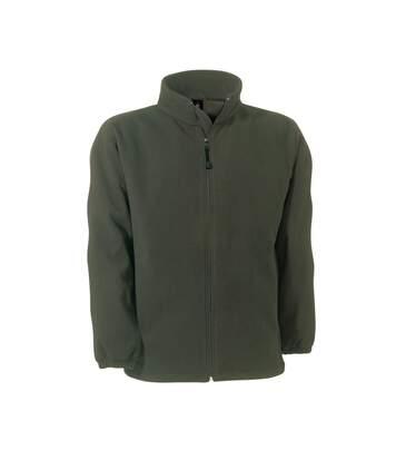 B&C Mens Windprotek Full Zip Waterproof & Windproof Jacket (Olive) - UTRW3520