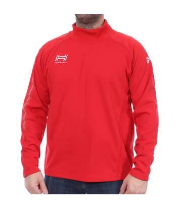 Sweat rouge homme Hungaria Training Pro 16