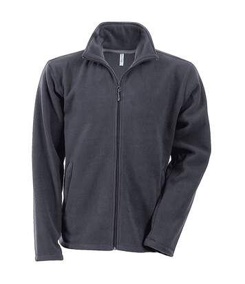 Kariban Mens Falco Full Zip Anti Pill Fleece Jacket (Convoy Grey) - UTRW737