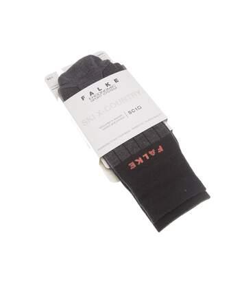 Chaussette Niveau mollet - 1 paire - Anti ampoule - Raquette - Chaude - Gris - SKI X-COUNTRY