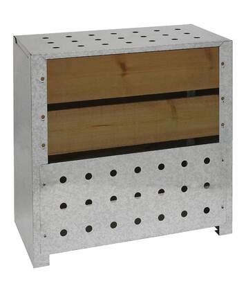 Silo à compost acier et bois 200L