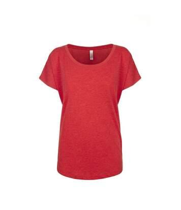 Next Level - Tri-Blend Dolman T-Shirt - Femme (Rouge) - UTPC3494