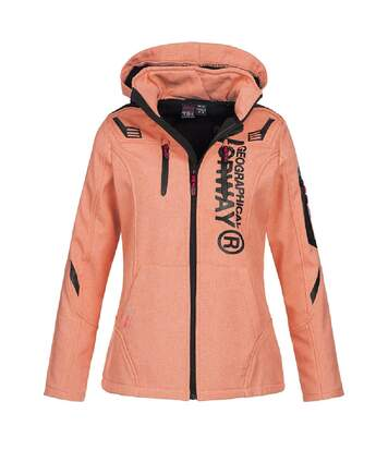 Veste Softshell Rose Femme Geographical Norway Truffe