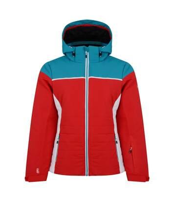 Dare 2B - Veste De Ski Sightly - Femme (Rouge/ Bleu) - UTRG4591