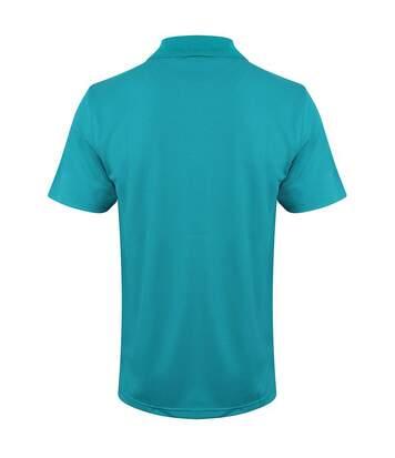 Henbury Mens Coolplus® Pique Polo Shirt (Oxford Navy) - UTRW635