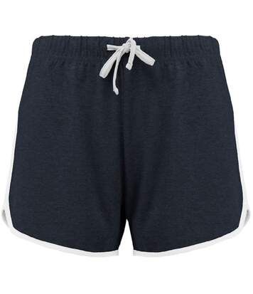 Short sports losirs femme - PA1021 - bleu marine