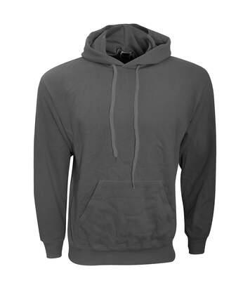 Fruit Of The Loom Mens Hooded Sweatshirt / Hoodie (Red) - UTBC366