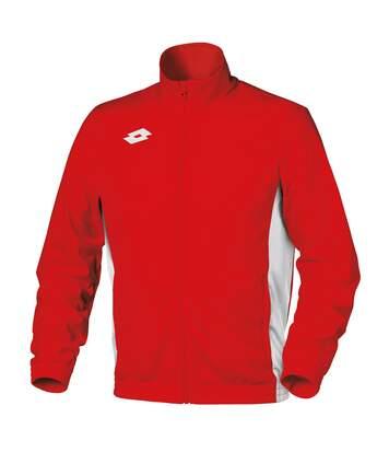 Lotto - Sweatshirt Zippé Delta - Enfant (Rouge / blanc) - UTRW6104