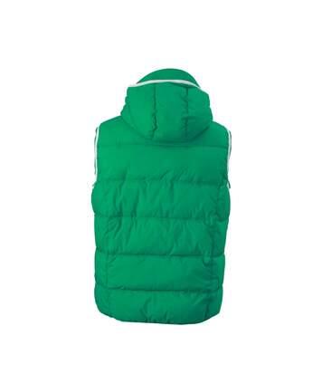 Doudoune sans manches pour homme - JN1076 - vert irlandais