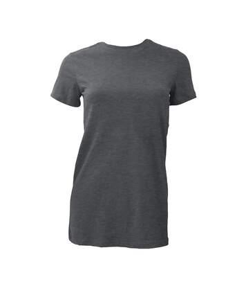 Bella The Favourite Tee - T-Shirt À Manches Courtes - Femme (Gris foncé) - UTBC1318