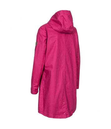 Trespass Womens/Ladies Sprinkled Waterproof Jacket (Dark Pink Lady) - UTTP4618