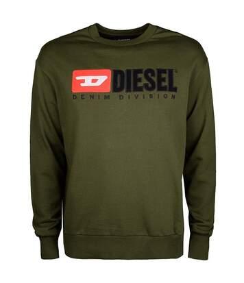 Sweat en coton à gros logo   -  Diesel - Homme
